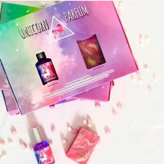Estuche unicornio jabón y perfume